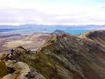 Hiking отключение стоковое изображение