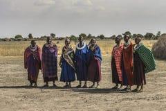 Люди Maasai стоковая фотография rf