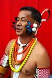 люди nagaland земли Индии Стоковое фото RF
