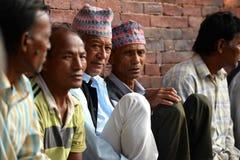 Люди Patan, Непала Стоковые Изображения RF
