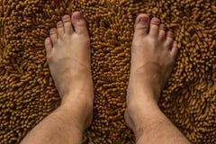 Людская нога Стоковая Фотография