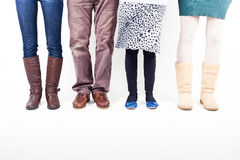 людские ноги Стоковое Изображение RF