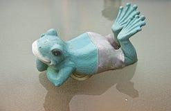 Лягушка в glasstop Стоковое Изображение RF