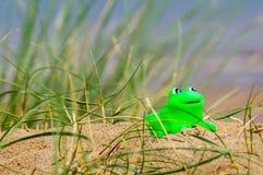 Лягушка игрушки Стоковые Изображения RF