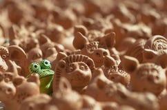 Лягушка одно Стоковые Изображения
