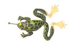 Лягушка приманки рыбной ловли стоковое изображение