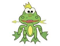 Лягушка принцессы Иллюстрация вектора