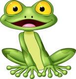 Лягушка шаржа милая бесплатная иллюстрация