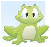 лягушка шаржа Стоковые Фото