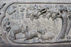 ЛЯОНИН, КИТАЙ - 1-ое августа 2015: Сброс на особняке Zhang маршала Стоковое Фото