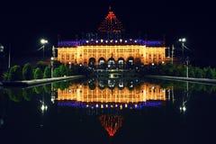 Мавзолей Imambara, Лакхнау, Индия стоковое изображение rf