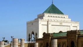 мавзолей mohammed v стоковое изображение