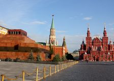 Мавзолей ` s Ленина Стоковая Фотография RF