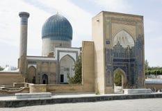 мавзолей samarkand gur amir e Стоковые Фото
