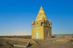 Мавзолей Sufi в Омдурмане Стоковое Изображение RF