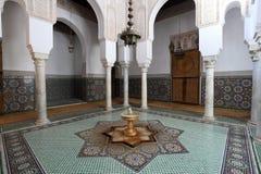 Мавзолей в Meknes, Марокко Стоковые Фото