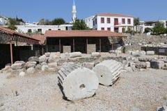 Мавзолей на Halicarnassus в Bodrum, Турции стоковое изображение