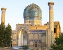 Мавзолей эмира Timur в Самарканде Стоковое Изображение RF