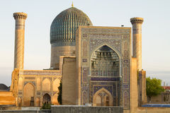 Мавзолей эмира Timur в Самарканде Стоковое Фото