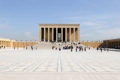 Мавзолей Anitkabir Mustafa Kemal Ataturk Стоковые Фото