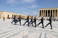 Мавзолей Anitkabir Mustafa Kemal Ataturk Стоковая Фотография