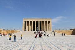 Мавзолей Anitkabir Mustafa Kemal Ataturk Стоковое Фото