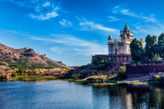 Мавзолей Jaswanth Thada, Джодхпур, Раджастхан Стоковые Фото