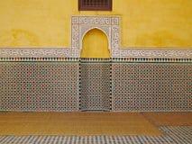 Мавзолей Meknes Стоковое фото RF
