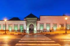 Мавзолей Moulay Ismail стоковая фотография rf