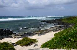 Маврикий, живописная деревня конематки красавицы Стоковые Фото
