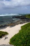 Маврикий, живописная деревня конематки красавицы Стоковое Фото