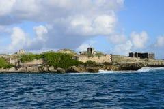 Маврикий, живописная деревня конематки красавицы Стоковое Изображение