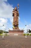 Маврикий Статуя Shiva на виске Bassin озера грандиозном Стоковые Фотографии RF