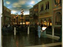 Магазины грандиозного канала, венецианское казино гостиницы, Лас-Вегас, Невада Стоковые Фотографии RF