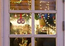 Магазины на рождестве на Tivoli в Копенгагене Стоковые Изображения