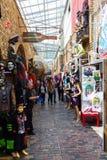 Магазины на рынке Camden, Лондоне, Великобритании Стоковая Фотография