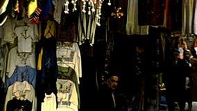 Магазины одежды города Иерусалима старые видеоматериал