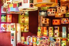 Магазин лампы Стоковое Фото