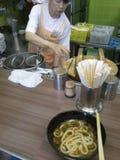 Магазин лапши рамэнов Японии Стоковая Фотография