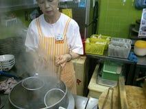 Магазин лапши рамэнов Японии Стоковые Фото