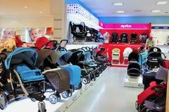 Магазин багги младенца стоковое изображение