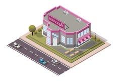 Магазин бутика вектора равновеликий стоковое изображение rf
