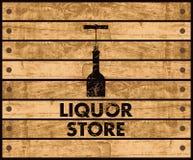 Магазин вина Стоковые Изображения RF