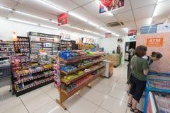 Магазин 7 11 в Куалае-Лумпур Стоковые Изображения RF