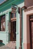 Магазин в средствах, Румыния снаружи знака Стоковая Фотография RF