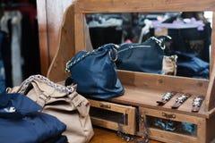 магазин детали одежды нутряной Стоковое Изображение RF