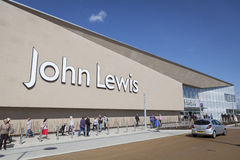 Магазин Джона Левиса в Йорке, Великобритании стоковая фотография