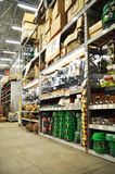 магазин домашнего улучшения стоковое фото rf