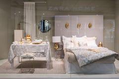 Магазин дома Zara на Emquatier, Бангкоке, Таиланде, 29-ое сентября 2017 Стоковые Изображения