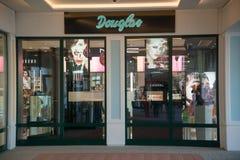 Магазин Дугласа в Parndorf, Австрии Стоковые Изображения